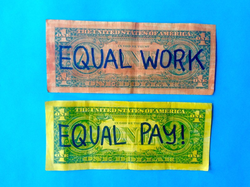 women face pay inequality lgbt